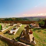 churchyard royaltyfri bild
