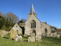 Churchyard Stock Photo