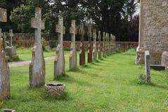 Churchyard för St Richards. Duncton. UK fotografering för bildbyråer