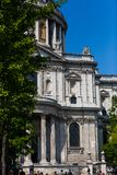 St Pauls cathedral on a sunny day in London Royalty Free Stock Photo
