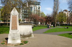 Churchyard park, Bermondsey, London Royalty Free Stock Photos