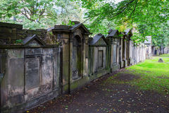 Churchyard of St Cuthbert`s Church Royalty Free Stock Image