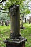 Churchyard of St Cuthbert`s Church Stock Image