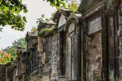 Churchyard of St Cuthbert`s Church Stock Photography
