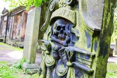 Churchyard of St Cuthbert`s Church Royalty Free Stock Photo