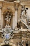 churcstaden skriver in italy gammala ragusa sicily arkivfoton