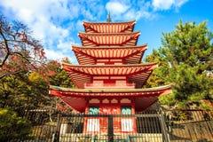 Chureito pagod Royaltyfri Foto
