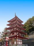 Chureito pagod Arkivfoton
