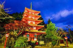 Chureito Pagoda Royalty Free Stock Photos