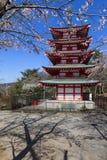 Chureito Pagoda Stock Photography