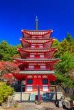 Chureito Pagoda, Fujiyoshida, Japan Stock Photo