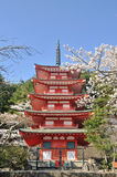 Chureito Pagoda in Japan Stock Photos