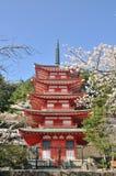 Chureito Pagoda in Japan Stock Photos