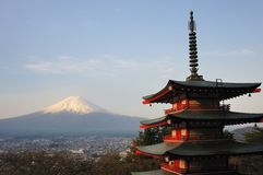 Chureito Pagoda, Japan Stock Photos