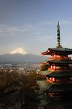 Chureito Pagoda, Japan Stock Photography