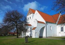 Churh des heiligen Kreuzes in Ronneby, Schweden lizenzfreies stockfoto