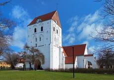 Churh des heiligen Kreuzes in Ronneby, Schweden stockfotografie