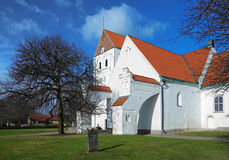 Churh of the Holy Cross in Ronneby, Sweden Royalty Free Stock Photo
