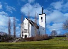 Churh In Kallinge, Sweden Royalty Free Stock Photography