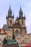 Churh of Our Lady before Tyn, Prague Royalty Free Stock Photography