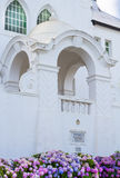 churhbyggnad 1910 i Swellendam Sydafrika Fotografering för Bildbyråer