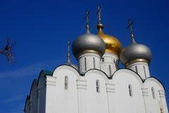 Churhc Smolenskaya монастырь moscow novodevichy Стоковая Фотография