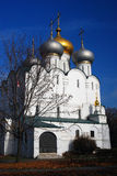 Churhc Smolenskaya монастырь moscow novodevichy Стоковая Фотография RF