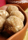 Churma Ladoo - A wheat based sweet from India Royalty Free Stock Photo