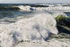 Churning sea Stock Image