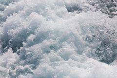 Churning sea water Royalty Free Stock Photos