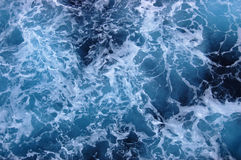 Churning Water Caribbean Ocean Stock Images