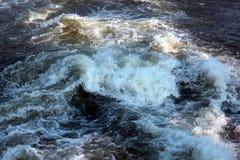 Churning  water Stock Photo