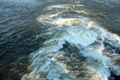 Churning  water Stock Image