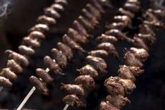 Churrasco de Curaçau, alimento brasileiro tradicional imagens de stock royalty free