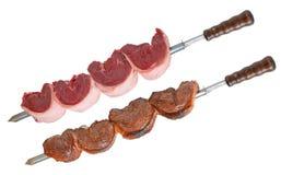 Churrasco picanha brazilian barbecue isolated Stock Image