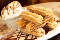 Churro Dessert Royalty Free Stock Photography