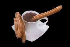 churros σοκολάτας Στοκ Φωτογραφία