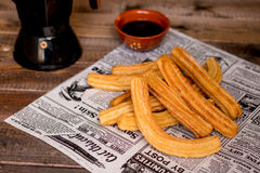 Churros Royaltyfria Bilder