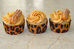 Churros cupcakes Στοκ φωτογραφία με δικαίωμα ελεύθερης χρήσης