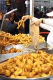 Churros - sobremesa espanhola Fotografia de Stock Royalty Free