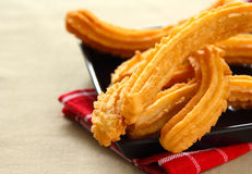 Churros or Spanish Dougnut Royalty Free Stock Images