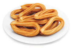 Churros typical of Spain Royalty Free Stock Photos