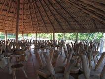 Churuata à la rivière de Caroni Photographie stock libre de droits