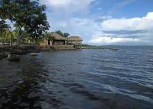 Churuata in Caroni-Fluss Stockfotos