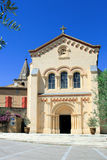 Chusclan - Provencal village in southern France Stock Photos