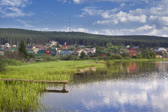 Chusovaia one of the most beautiful rivers of the Sverdlovsk region, Royalty Free Stock Photography