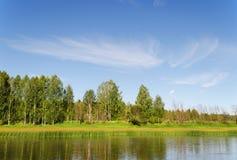 Chusovaya river Stock Photos