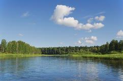 Chusovaya river Royalty Free Stock Images