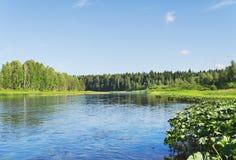 Chusovaya river Stock Images
