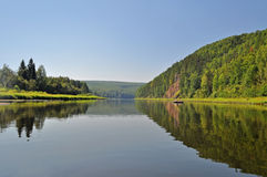 The Chusovaya River Stock Photography